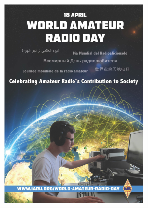 18. April, World Amateur Radio Day